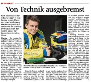 Max Kottmayr Zeitung 28.05.2015